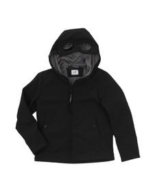 CP Company Undersixteen Boys Black Goggle Shell Jacket