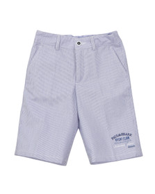 Paul & Shark Boys Blue Woven Bermuda Shorts