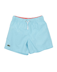 Lacoste Boys Green  MJ0921 Swim Shorts