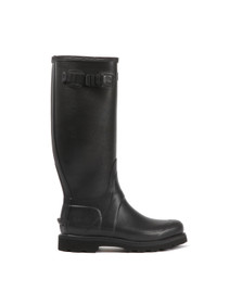 Hunter Mens Black Balmoral II Wellington Boot