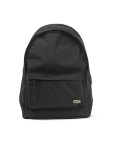 Lacoste Mens Black NH1595NE Backpack