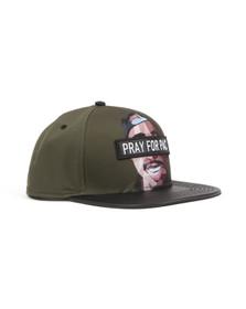 Cayler Mens Green Pacasso Cap