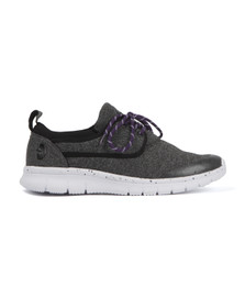 Luke Mens Grey Flyer Slip On Trainer