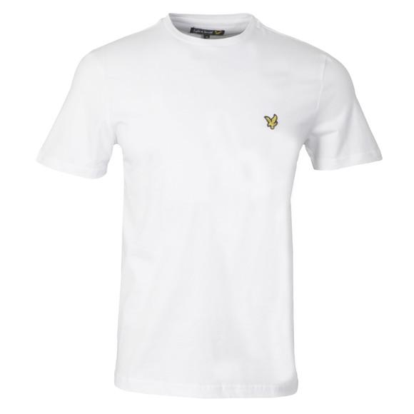 Lyle and Scott Mens White S/S T-Shirt main image