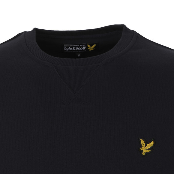 Lyle and Scott Mens Blue Crew Neck Sweat main image