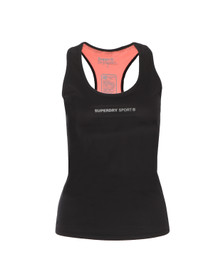 Superdry Womens Black Gym Vest