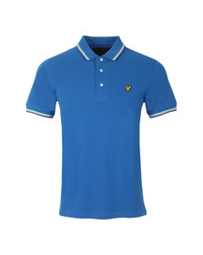 Lyle and Scott Mens Blue Tipped Polo Shirt