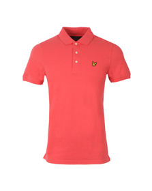 Lyle and Scott Mens Red S/S Polo