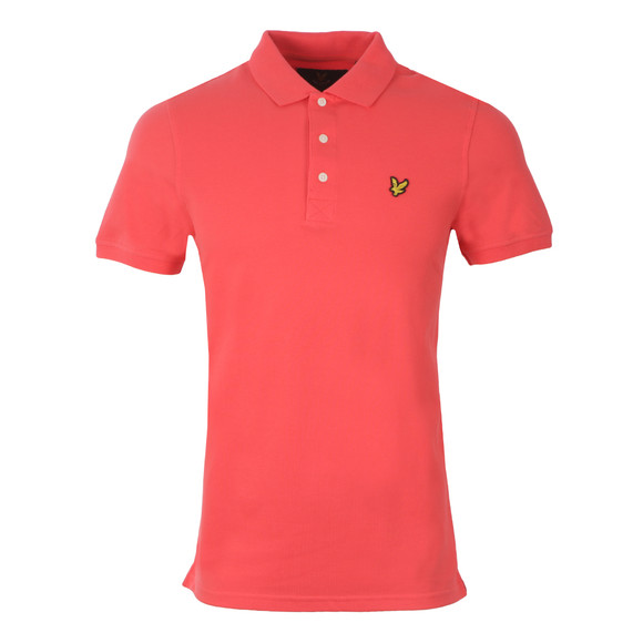 Lyle and Scott Mens Red Polo main image