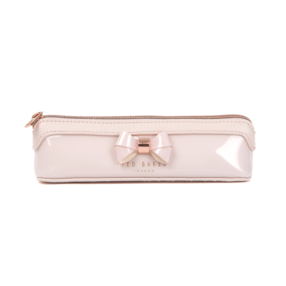 reputable site 6df49 2f51d Womens Pink Katiya Layered Bow Pencil Case