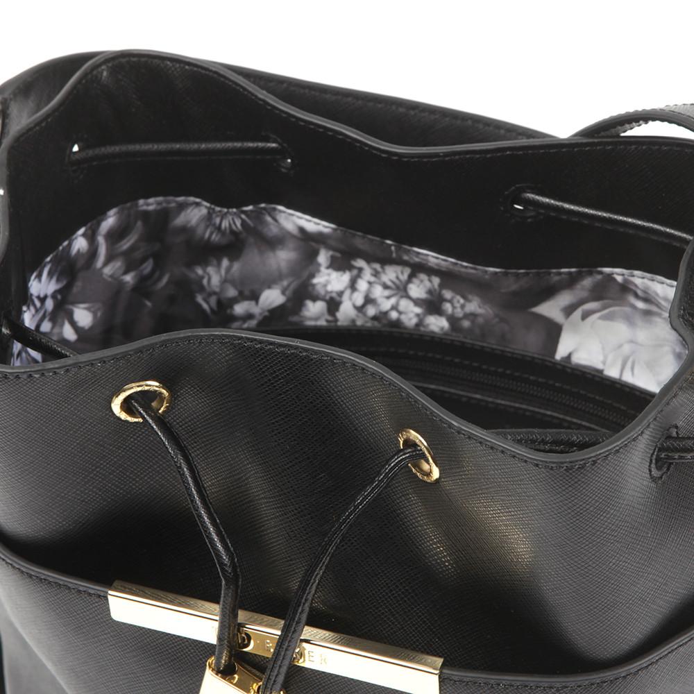 ec2ba074901d7 Ted Baker Adrene Large Metal Bar Bucket Bag