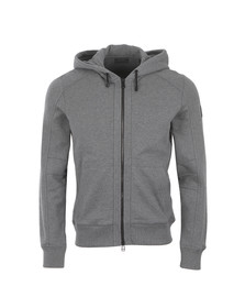Belstaff Mens Grey Fleming Hooded Sweatshirt