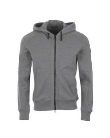 Belstaff Mens Grey Fleming Hooded Sweatshirt