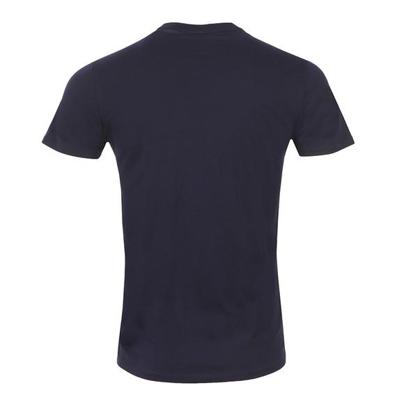 Armani Jeans Mens Blue C6H6E Logo T Shirt main image
