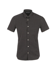 J.Lindeberg Mens Black Dani Short Sleeve Seasonal Shirt