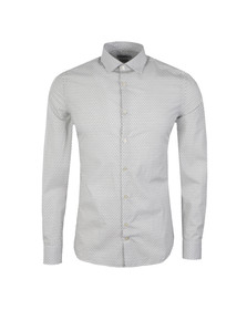 J.Lindeberg Mens White Dani Seasonal Print Shirt