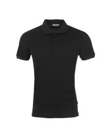 J.Lindeberg Mens Black Pinto 2.0 Jersey Polo Shirt