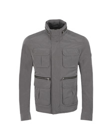 J.Lindeberg Mens Grey Markus Peach Memo Jacket