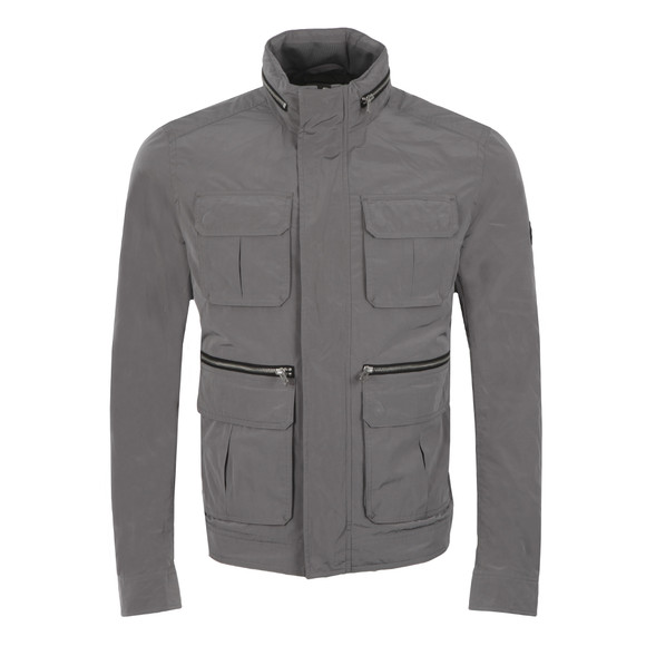 J.Lindeberg Mens Grey Markus Peach Memo Jacket main image