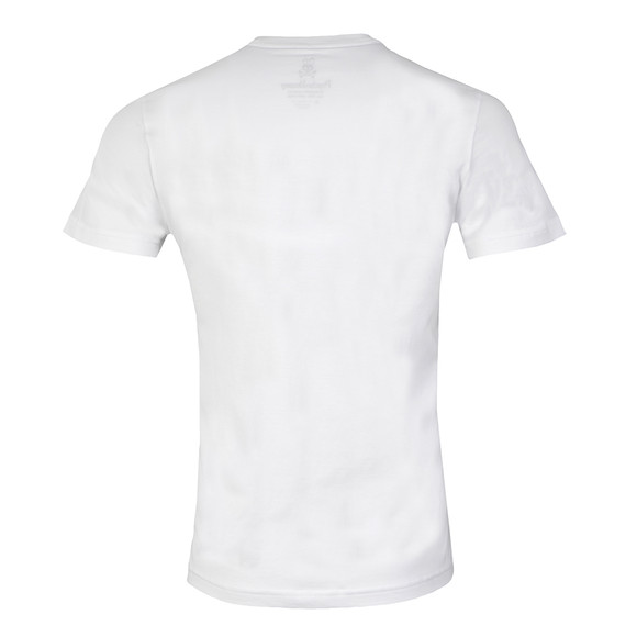 Psycho Bunny Mens White Classic Crew Neck T-Shirt main image