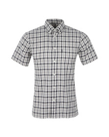 Aquascutum Mens Blue Emsworth SS CC Shirt