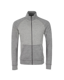 Boss Orange Mens Grey Zoover Zip Track Top