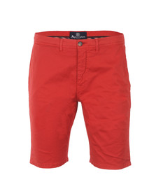 Aquascutum Mens Red Rushden Chino Short