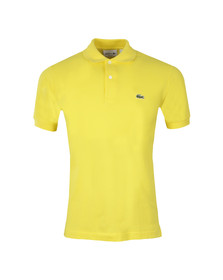 Lacoste Mens Yellow L1212 Spi Plain Polo Shirt