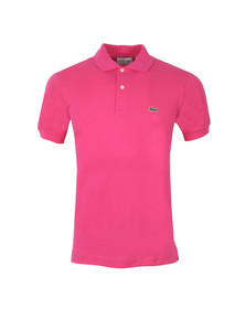 Lacoste Mens Pink L1212 Tyrien Plain Polo Shirt