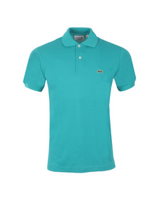 Lacoste Mens Blue L1212 Jura Plain Polo Shirt