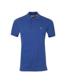 Lacoste Mens Blue L1212 Delta Plain Polo Shirt