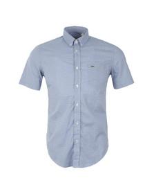 Lacoste Mens Blue S/S CH6303 Shirt