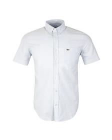 Lacoste Mens Blue S/S CH2294 Shirt