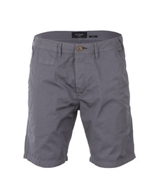 Paul Smith Jeans Mens Grey Standard Fit Chino Short