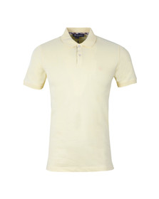 Aquascutum Mens Yellow Hilton Pique Polo