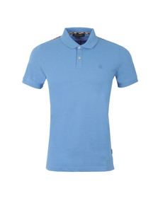 Aquascutum Mens Blue Hill CC Polo