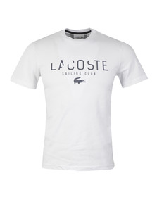 Lacoste Mens White TH5022 Tee