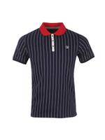 BB1 Pinstripe Polo Shirt