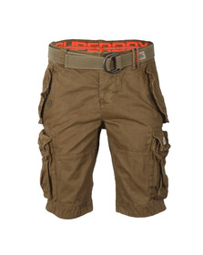 Superdry Mens Brown New Core Cargo Heavy Short