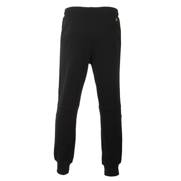 Lyle and Scott Mens Black Slim Fit Cuffed Jogger main image