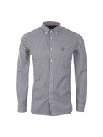 Gingham Check LS Shirt