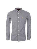 Gingham Check LS Shirt
