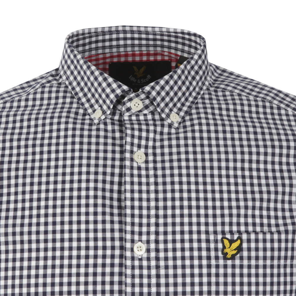 Gingham Check LS Shirt main image