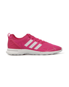 Adidas Originals Womens Pink ZX Flux ADV Smooth Trainers