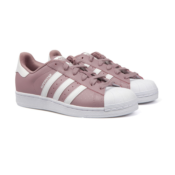 adidas Originals Womens Purple Superstar Foundation Trainer main image a48512bc4