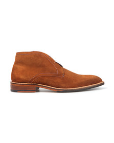 Ted Baker Mens Brown Torsdi 4 Suede Boot