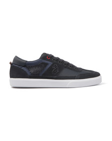 Luke Mens Blue Inaction Low Cut Trainer