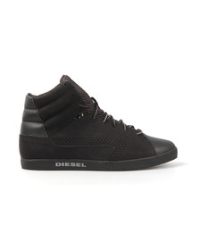 Diesel Mens Black E-Klubb Hi Trainer