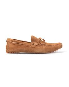 J Shoes Mens Orange Cam Driving Shoe