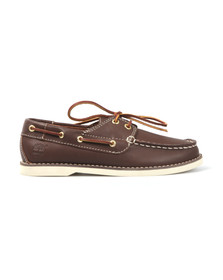 Timberland Boys Brown Seabury Boat Shoe